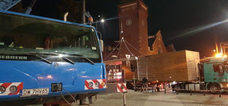 Z CYKLU CIEKAWE ZLECENIA : Nocny transport kontenerów